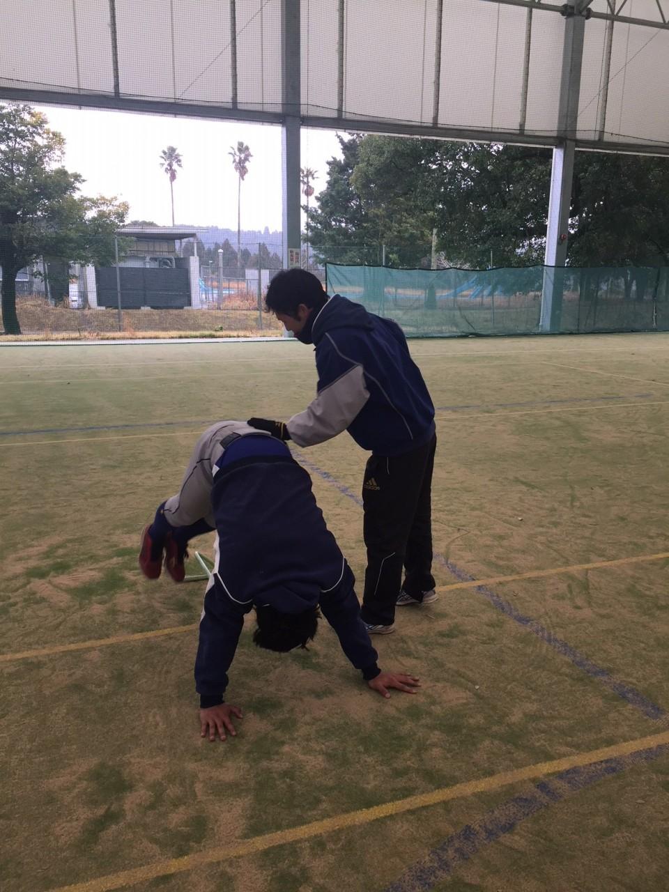 三橋トレーナートレーニング